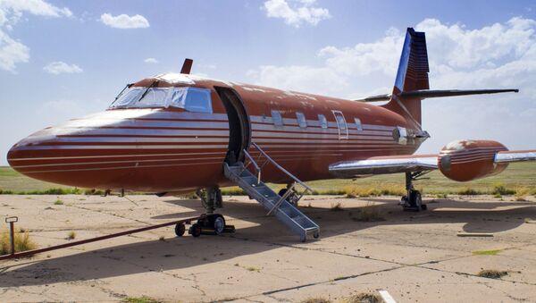 Osobní letadlo, které patřilo králi rokenrolu Elvisu Presleymu - Sputnik Česká republika