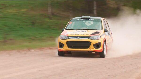 Posádka LADA zvítězila na Mistrovství Ruska v rallye - Sputnik Česká republika
