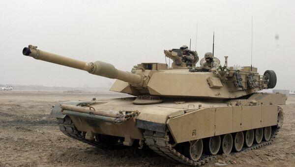 M1 Abrams - Sputnik Česká republika