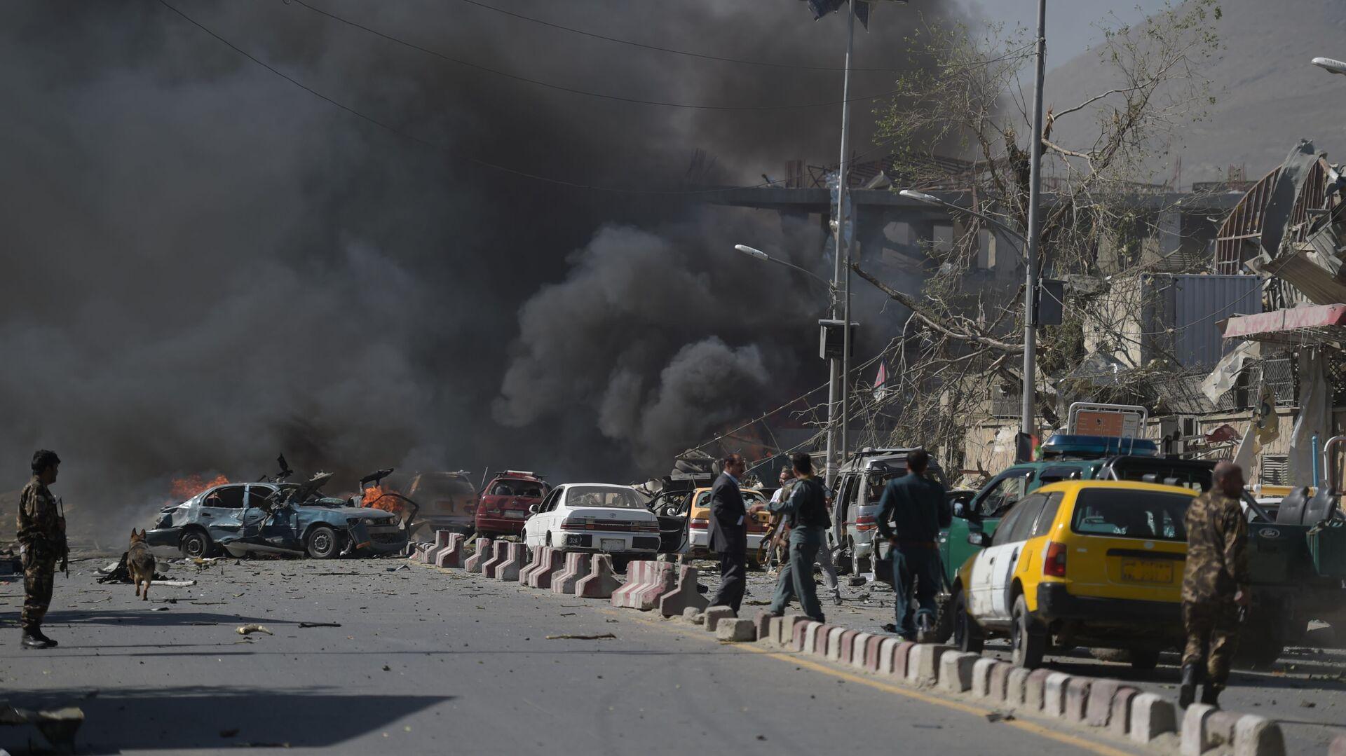 Místo výbuchu v Kábulu, Afghánistán - Sputnik Česká republika, 1920, 18.09.2021