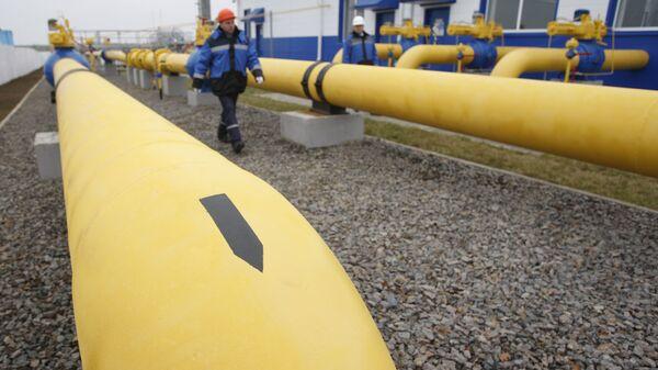 Plynovod Gazpromu - Sputnik Česká republika