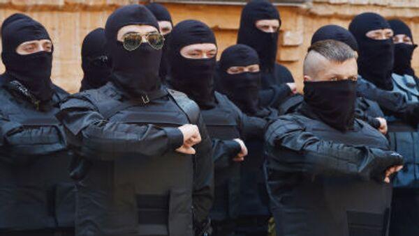Aktivisté Pravého sektoru - Sputnik Česká republika