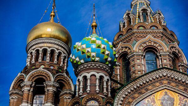 Chrám Kristova vzkříšení v Petrohradu - Sputnik Česká republika