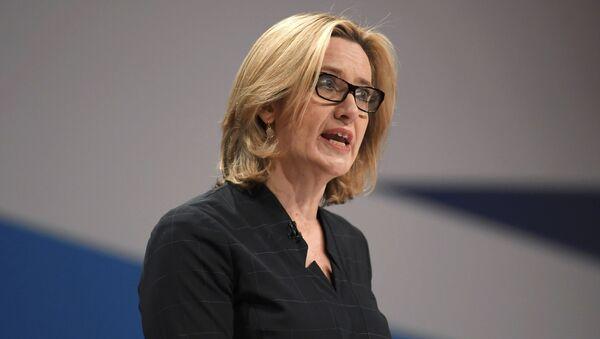 Ministryně zahraničí Velké Británie Amber Ruddová - Sputnik Česká republika