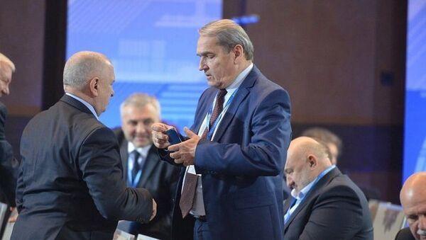 Bratr bývalého ukrajinského prezidenta Viktora Juščenka a bývalý poslanec Nejvyšší rady Petr Juščenko - Sputnik Česká republika