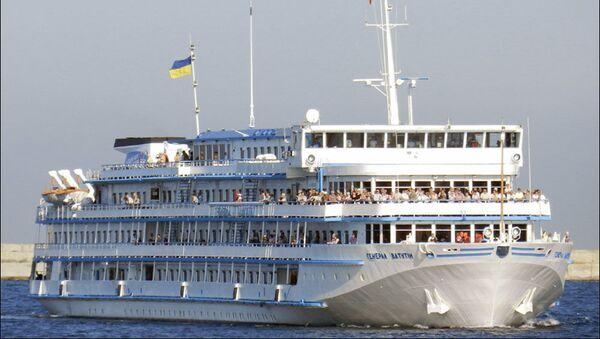 Ukrajinská výletní loď Generál Vatutin - Sputnik Česká republika