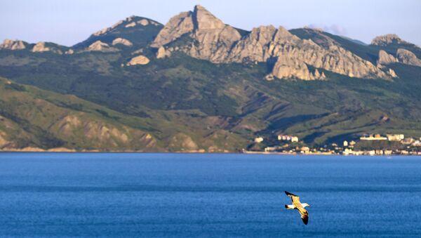 Pohled na přírodní rezervaci na Krymu. Ilustrační foto - Sputnik Česká republika