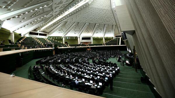 Íránský parlament v Teheránu - Sputnik Česká republika