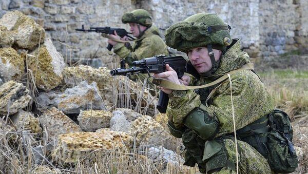 Cvičení ruských vojsk. Archivní foto - Sputnik Česká republika