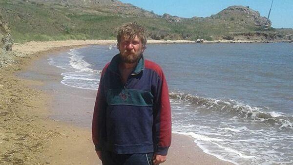 Muž, který pokusil přeplavat Kerčský průliv - Sputnik Česká republika