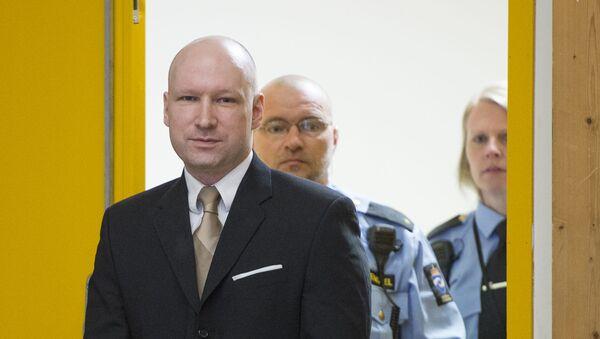 Norský terorista Anders Behring Breivik - Sputnik Česká republika