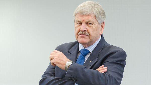 Německý poslanec Evropského parlamentu Udo Voigt - Sputnik Česká republika