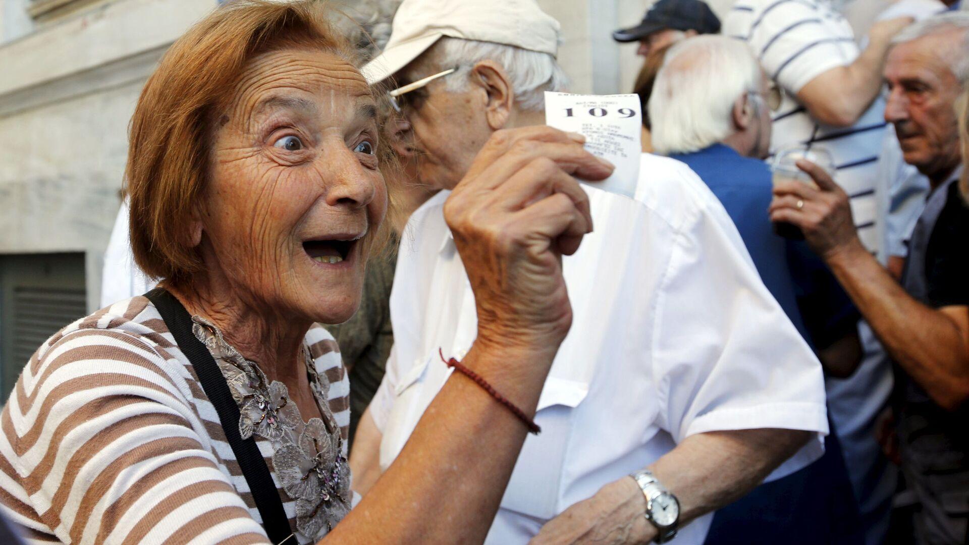 Řečtí důchodci - Sputnik Česká republika, 1920, 30.07.2021
