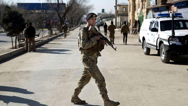 Afghánský voják - Sputnik Česká republika