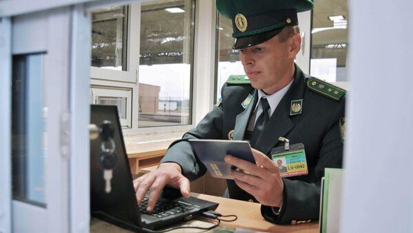 Pasová kontrola na ukrajinsko-polské hranici - Sputnik Česká republika