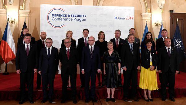 Účastníci konference pro bezpečnost v Praze - Sputnik Česká republika