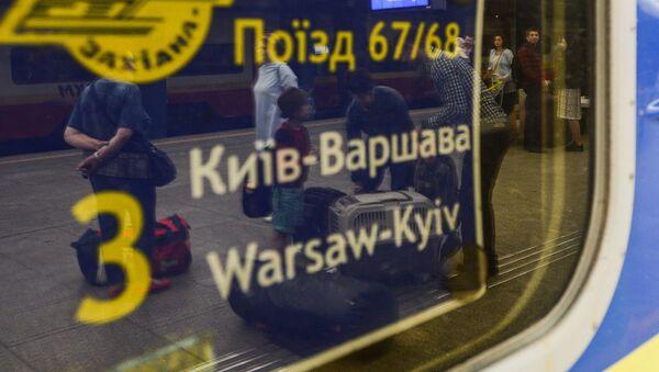 Vlak Kyjev - Varšava - Sputnik Česká republika
