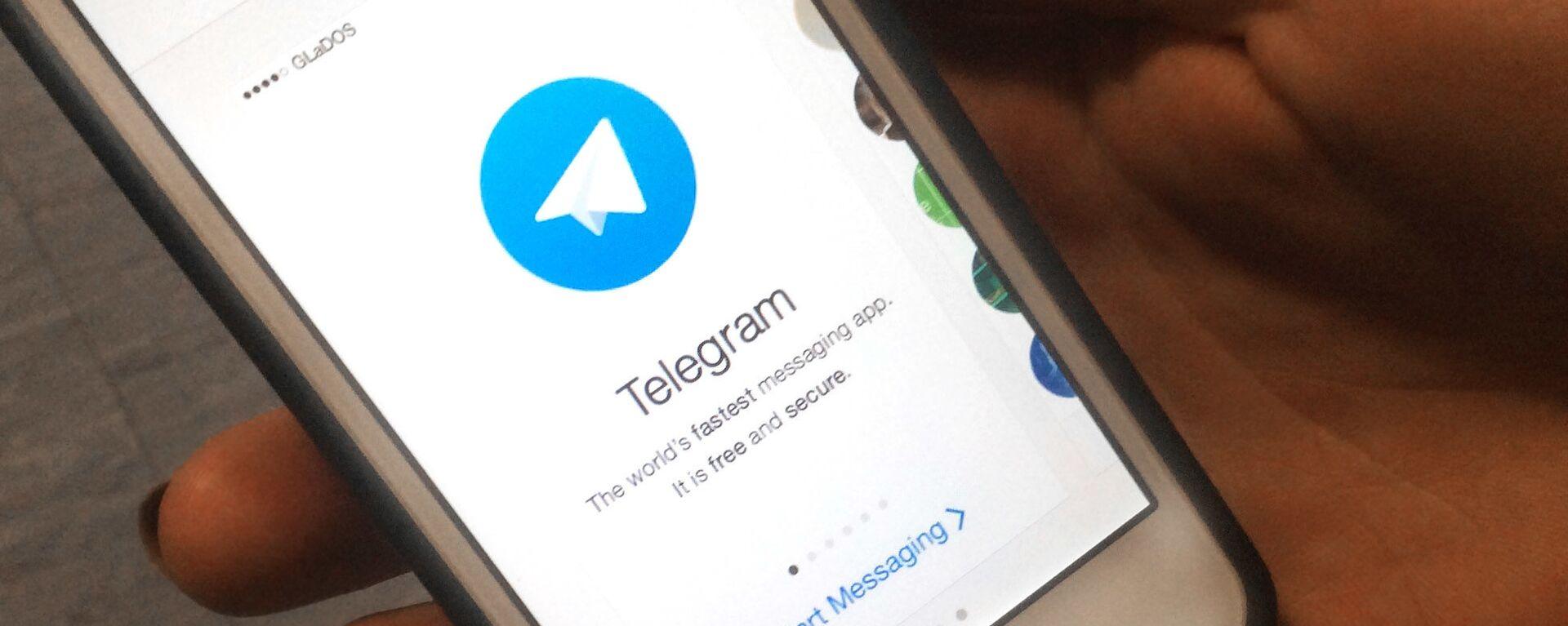 Aplikace Telegram - Sputnik Česká republika, 1920, 29.01.2021