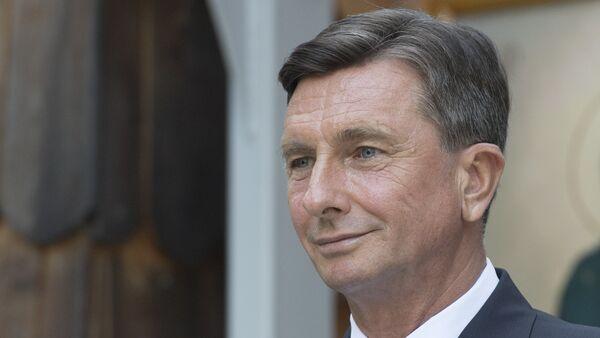 Slovinský prezident Borut Pahor - Sputnik Česká republika