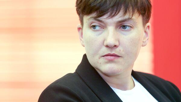 Ukrajinská poslankyně Naděžda Savčenková - Sputnik Česká republika
