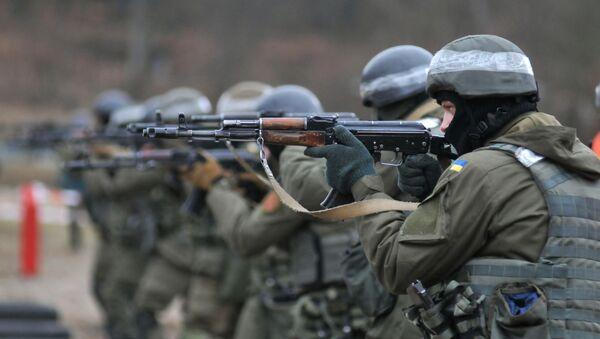 Ukrajinští vojáci - Sputnik Česká republika