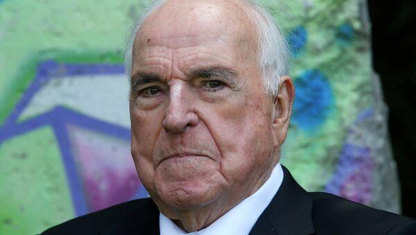 Bývalý německý kancléř Helmut Kohl - Sputnik Česká republika