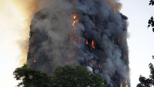 Požár v Londýně - Sputnik Česká republika