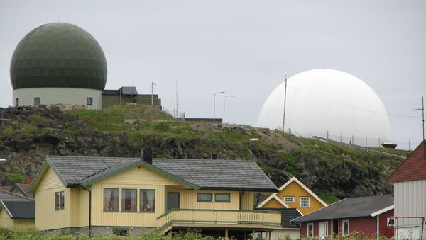 Radar Globus II na ostrově Vardo - Sputnik Česká republika