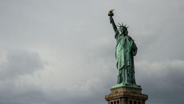 Socha Svobody v New Yorku - Sputnik Česká republika