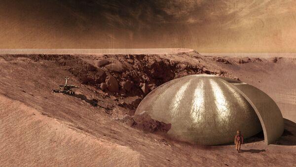 Projekt domu na Marsu - Sputnik Česká republika