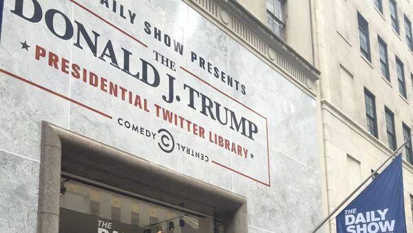 Knihovna tweetů prezidenta USA Donalda Trumpa - Sputnik Česká republika