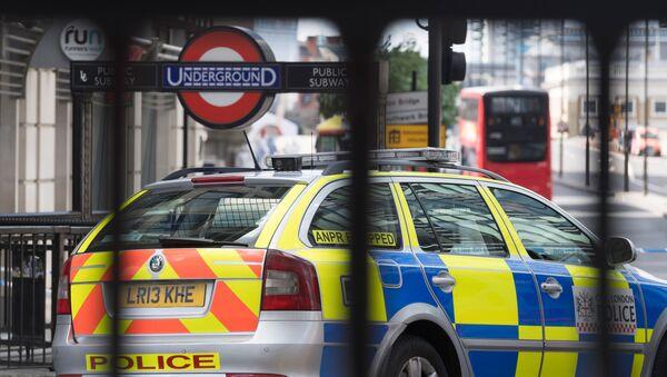 Policejní vůz v Londýně - Sputnik Česká republika