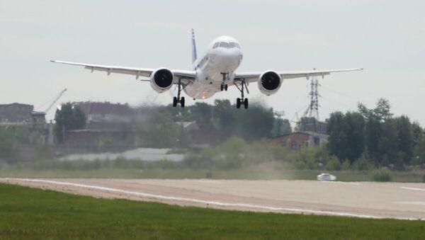 Ruské dopravní letadlo MS-21. Ilustrační foto - Sputnik Česká republika