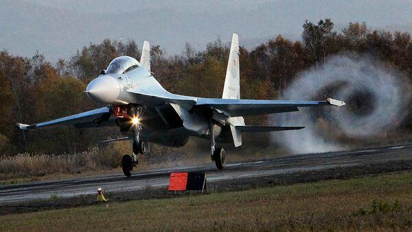 Víceúčelový letoun Su-30 M2 - Sputnik Česká republika