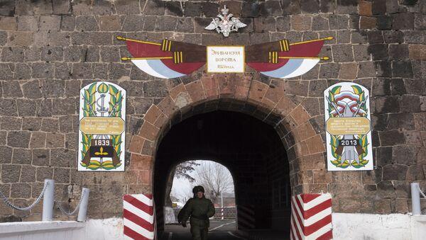 Ruská vojenská základna v Arménii - Sputnik Česká republika