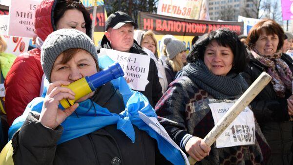 """Mitink """"Úvěrového Majdanu"""" v Kijevě - Sputnik Česká republika"""