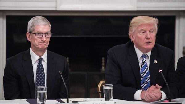 Ředitel společnosti Apple Tim Cook - Sputnik Česká republika