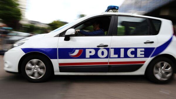 Francouzský policejní vůz - Sputnik Česká republika