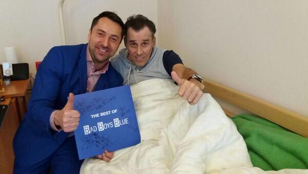 John McInerney v Tomské nemocnici - Sputnik Česká republika