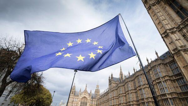 Evropská vlajka v Londýnu - Sputnik Česká republika