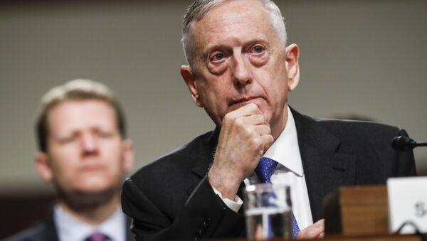 Ministr obrany USA James Mattis - Sputnik Česká republika