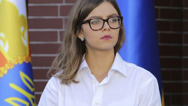 Náměstkyně ministerstva vnitra Ukrajiny Anastasija Dějevová - Sputnik Česká republika