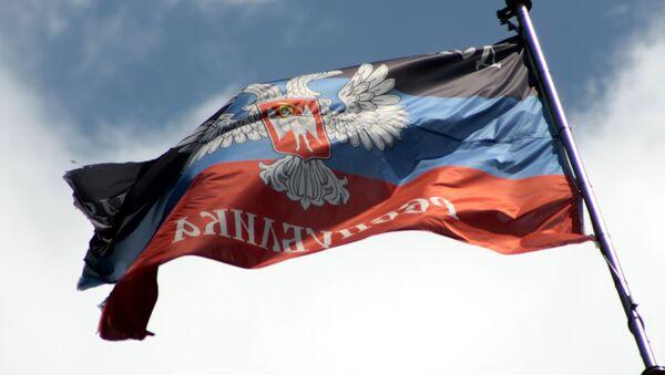 Vlajka DLR - Sputnik Česká republika