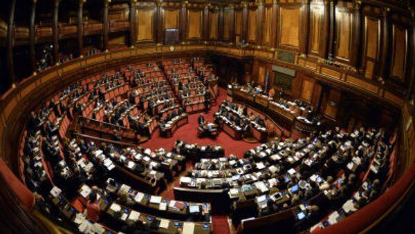 Italský parlament - Sputnik Česká republika