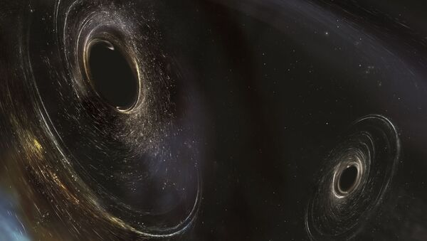 Umělecká podoba černých děr - Sputnik Česká republika
