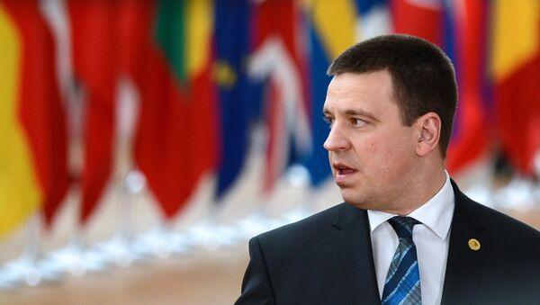 Estonský premiér Jüri Ratas - Sputnik Česká republika