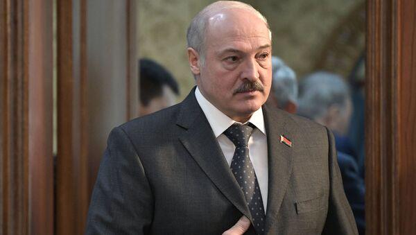 Běloruský prezident Alexandr Lukašenko - Sputnik Česká republika