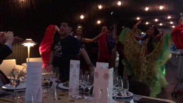 Maradona zapařil s Romy v Moskvě - Sputnik Česká republika
