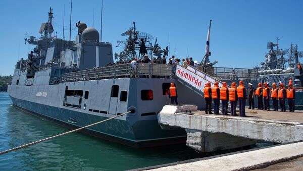 Raketová fregata Admiral Essen - Sputnik Česká republika