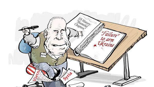 McCain - nejhanebnější karta v amerických dějinách - Sputnik Česká republika